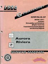 SHOP MANUAL SERVICE REPAIR 1996 AURORA RIVIERA BUICK OLDSMOBILE BOOK
