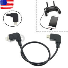 Cable for DJI MAVIC PRO AIR Spark Drone Remote Controller RC IOS iPhone/iPad USB