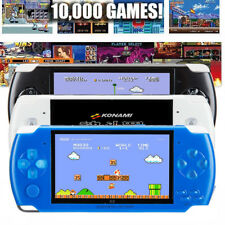 Portable Handheld Video Game Console 8GB 4.3'' 32Bit 10000 Games Built-In