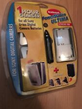 GENUINE HAHNEL ULTIMA li-ion CHARGER MODEL FOR ALL SONY DIGITAL CAMERA BATTERIES