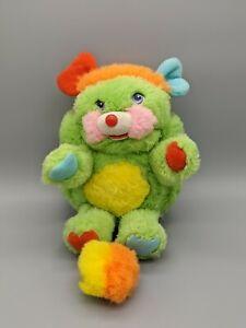 Popples Putter Green Plush Popple Vintage 1980's Stuffed 1985 Stuffed Animals