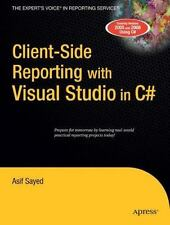 Client-Side Reporting with Visual Studio in C# - Good - Sayed, Asif - Paperback