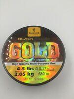 Browning Black Magic Gold 4.5lbs 0.17mm 2.05kg 680m line BRAND NEW (Box 3)