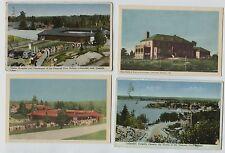 8 Vintage Callander Ontario Canada Postcards