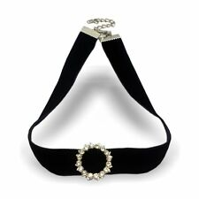 Ladies Choker Necklace Simple Trendy Lace Stretch Classic Retro New Necklace Gir