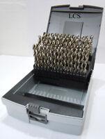 HSS-G Spiralbohrer 6,0-10,0 mm - 0,1 mm steigend 41 tlg. Metallbohrer Rose Box