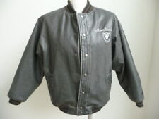 Vintage NFL Raiders Football Jacket Sz M