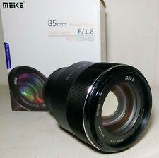 ***Mint*** Meike 85mm f/1.8 medium telephoto lens for Sony E mount