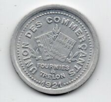 France - Necessite - Fourmies & Trelon - 10 Centime 1921
