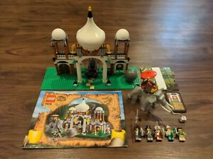 LEGO Orient Expedition Scorpion Palace #7418 Playset Figures Instructions 100%