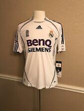 Real Madrid Spain Ronaldo Beckham Raul Era CL Football Shirt Adidas SoccerJersey