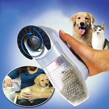 Cat Dog Pet Hair Fur Remover Shedding Grooming Brush Comb Vacuum Cleaner Trimmer