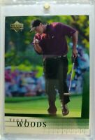 2001 Upper Deck UD Golf TIGER WOODS ROOKIE RC #1, The GOAT !!!
