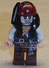 x1 NEW Lego Captain Jack Sparrow SKELETON Minifig Pirates of the Caribbean 4181