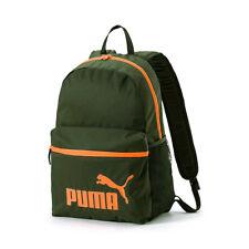 PUMA Phase Backpack Rucksack Sport Freizeit Reise Schule 75487 05 grün