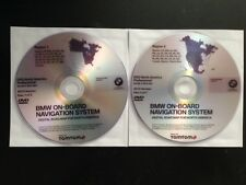 2015 BMW Navigation DVD East & West Pro CCC Map Update 2 Disc Set iDrive 2016
