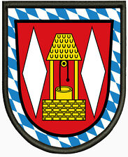 Wappen von Grasbrunn ,Pin, Aufbügler