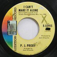 Hear! Rock Promo 45 Pj Proby - I Cant Make It Alone / If I Ruled The World On Li