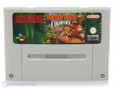Nintendo SNES Spiel - Donkey Kong Country 1 DE/EN Modul