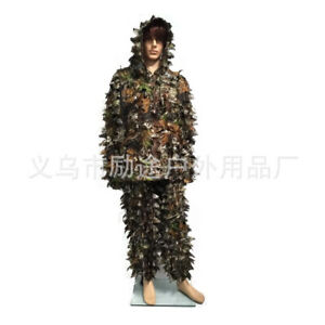 Tactical Yowie Sniper Camouflage Suit 3D Leaves Bionic Ghillie Hunting Clothing