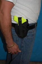 GUN HOLSTER, FITS GLOCK 26, 27, TAURUS MILLENIUM, WALTHER P22 W/LASER , 300
