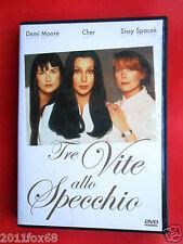 dvd,film,tre vite allo specchio,demi moore,cher,sissy spacek,cliff eidelman,f,gq