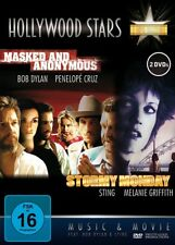 Masked and Anonymous , Stormy Monday , 2 DVDs , new , Bob Dylan , Jessica Lange