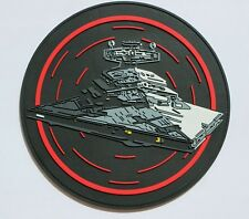 Star Wars Imperial Star Destroyer Venator Cruiser PVC patch with contact tape