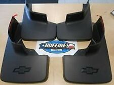 New Mud Flaps Splash Guards 2014-2019 Silverado Front & Rear (22894857 23387353)