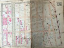 1904 CROWN HEIGHTS BROOKLYN NY P.S. 167 ST. MATTHEW'S CHURCH COPY PLAT ATLAS MAP