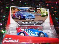 """DISNEY PIXAR CARS """"RAOUL CaROULE"""" Die-Cast Metal, Scale 1:55, NEW, Mattel"""