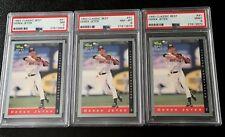 Lot of 3 Derek Jeter 1993 Classic Best #91 PSA 9 PSA 8 PSA 7 Rookie Cards Minors