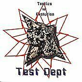 Test Dept CD Tactics for Evolution mint Industrial Invisible Records 10 tracks