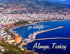 Turkey - ALANYA - Travel Souvenir FLEXIBLE FRIDGE MAGNET