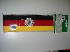DFB - Stirnband Deutschland mit DFB-Logo in der Mitte Fussball Fanartikel
