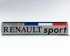 Émail Chrome Powered by Renault Sport Voiture Badge CLIO MEGANE drapeau français FRANCE