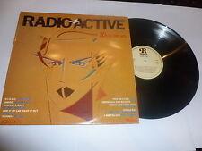 RADIO ACTIVE  - Scarce 1980 UK 20-track compilation Vinyl LP