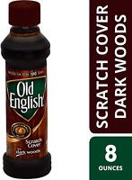 Old English Scratch Cover For Dark Woods, 8 fl oz Bottle, Wood Polish