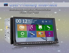 2016 New 2 Din 7'' LCD Car DVD Radio Stereo Player with GPS Navigation+Free Cam