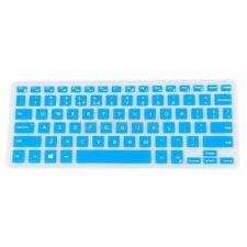 Arabic/ English Silicone Keyboard Skin Cover for Dell XPS13 9350/9360 Blue