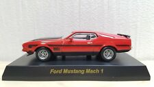 1/64 Kyosho FORD MUSTANG MACH 1 RED diecast car model