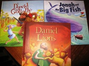 My First Bible Stories - Katherine Sully - David & Goliath and 2 more (Lot of 3)
