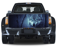 Truck Tailgate Graphics Winter Wolf Vinyl Decal Full Color Sticker Trunk Wrap