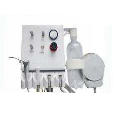 Portable Hanging Wall Type Dental Turbine Unit Work With Air Compressor