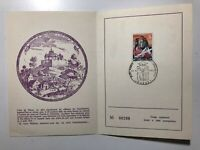 1968 Belgium Belgio 500th Battle Theux Franchimont Castle Numbered LE Folder