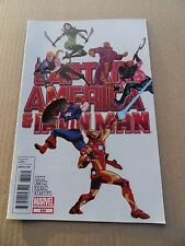 Captain America And Iron - Man  634 .  Marvel 2012 -  VF