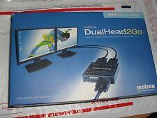 Matrox DUALHEAD2GO - Dual Analog Edition /    D2G-A2A-AJ