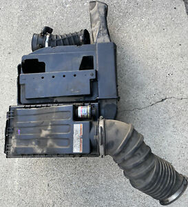 1999-2003 F250 F350 7.3  DIESEL AIR INTAKE BOX  CLEANER HOUSING W/ BATTERY TRAY