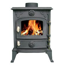 Cosmetic Damaged High Efficient Cast Iron Multi Log Wood Burner Stove 6KW JA013