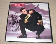 VANILLA ICE - SIGNED PLAY THAT FUNKY MUSIC VINYL LP RECORD *AUTOGRAPHED* HIP HOP